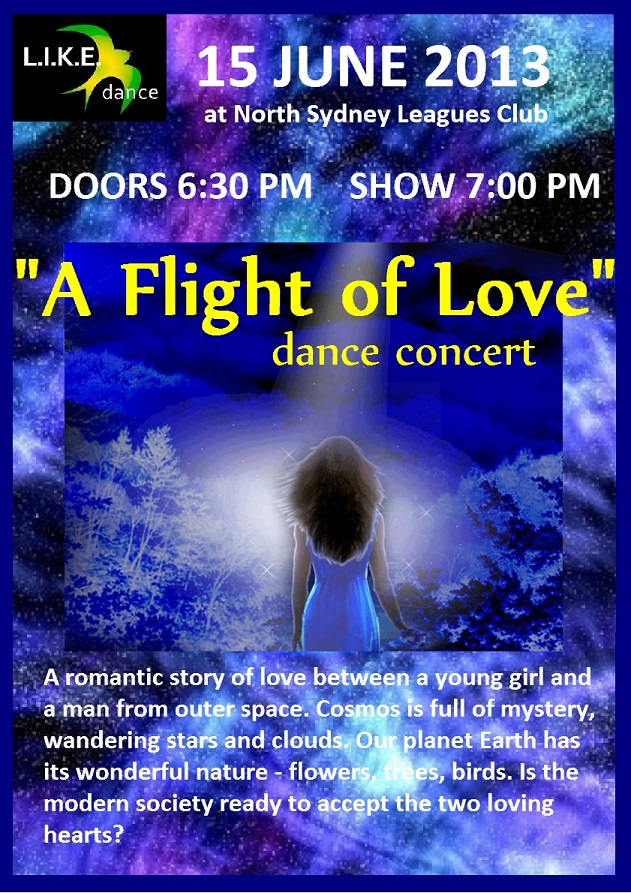 A Flight of Love dance concert